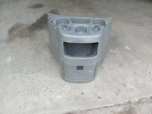 1997 2013 Ford Econoline Van E150 E250 E350 E450 Console Cup Holder Grey Gray A