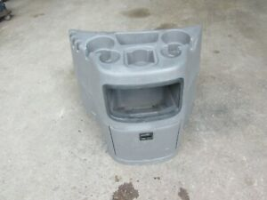 1997 2013 Ford Econoline Van E150 E250 E350 E450 Console Cup Holder Grey Gray C