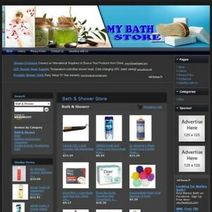Bath Shower Store Easy To Operate Highly Profitable Internet Home Business