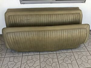 1973 76 Dodge Plymouth A Body Rear Bench Seat Cover Mopar Oem Nice