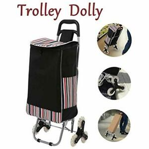 Trolley Dolly Stair Climber Foldable Grocery Cart Utility Shopping Climbing