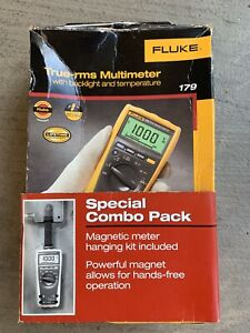 Fluke 179 True rms Digital Multimeter With Temperature Probe