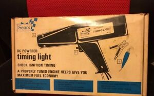 Vintage Sears Craftsman Inductive Timing Light Model 28 2158