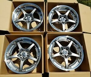 Rays Volk Racing Sf Challenge Wheels 19x8 5 Front 19x9 5 Rear 5x114 3