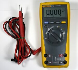 Fluke 77 Iv Multimeter Fluke Test Leads Very Good Condition Works Great