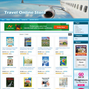 Travel Online Store Make Money Fast Dropship Business Website Work At Home
