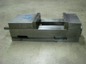 Kurt 2 Angle Lock 6 Wide Vise For Milling Machine Work Piece Holding