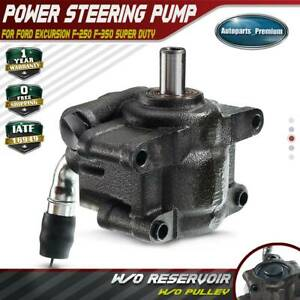 Power Steering Pump W O Pulley For Ford Excursion F 250 F 350 Super Duty 04 07
