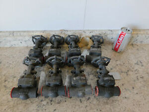 8 New Newco Globe Valve 1 2 Socket Weld Class 800 A105 Forged Steel Body New