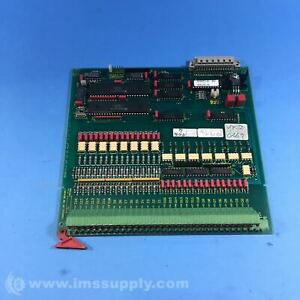 Schenck K003161 01 Bb Beav017 Pc Board Fnip