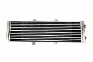 Plm Universal Aluminum Liquid Heat Exchanger Air To Water Intercooler Silver Npt