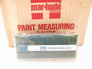 Mar Hyde 1099 Paint Measuring Gauge Made In Usa