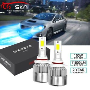 9005 8000k Led Headlight Bulbs For Subaru Wrx 2013 18 Impreza 2004 18 High Beam