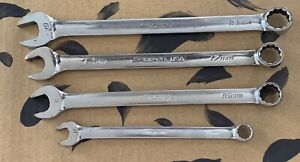 Snap On Combination Metric Mm Wrench Mixed Set Offset Vintage Soexm