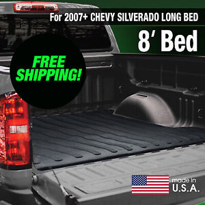Boomerang Rubber Bed Mat For 2007 Chevy Silverado Long Bed Free Shipping