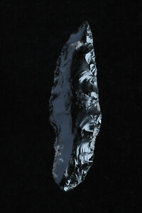 Pre Columbian Mayan Aztec Obsidian Dart Point Or Arrowhead East Central Mexico