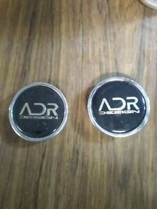 1 Adr Desing Wheels Chrome Center Caps Cover Rims Yq Cap2a