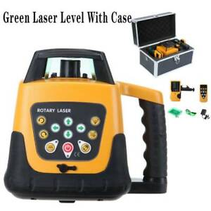 Ridgeyard Green Beam Automatic Laser Level Rotary Rotating 360 Self leveling