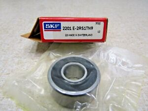Skf 2201e 2rs1tn9 12mmx 32mmx 14mm Self Aligning Bearing
