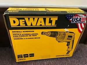 Brand New In Box Dewalt Dw272 Drywall Screwgun