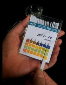 50pack lot Alkaline Ph Test Paper Strips Indicator Litmus Kit Testing Ph1 14 Y
