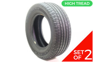 Set Of 2 Used 265 60r17 Goodyear Eagle Rs A 108v 9 5 10 32