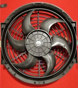 Electric Radiator Cooling Fan 12 Overall For Vintage Cars