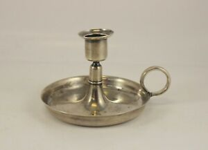 Tiffany Co Sterling Silver Candlestick 8225m Vintage Early