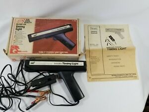 Vintage Sears Inductive Timing Light Model 161 216840 Original Box And Manual