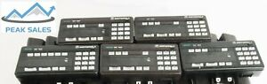Lot Of 5 Motorola Astro Systems 9000 Control Head Tested working