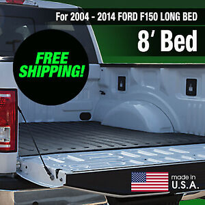 Heavy Duty 2004 2014 Ford F150 Rubber Bed Mat Long Bed factory Second