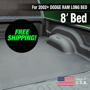 Boomerang Rubber Bed Mat For 2002 Dodge Ram Long Bed Free Shipping