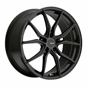 Advanti Hybris Rim 18x8 5x4 5 Offset 35 Gloss Black Quantity Of 4