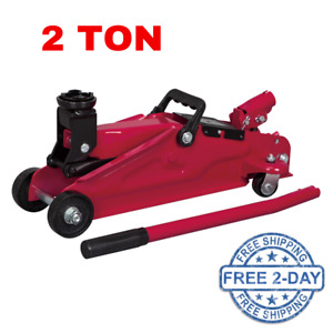 2 Ton Portable Hydraulic Trolley Jack Car Lift Truck Repair Tire Oil Change Auto