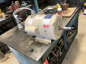 Used Baldor Ucl 1050 Motor 37e765w198 10 15hp Air Over 230 Volts Grain Bin Dry