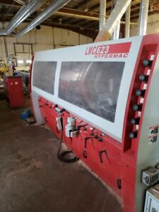2013 Leadermac Hypermac Lmc 623h 6 Head Wood Moulder Machine