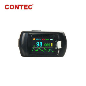 24h Spo2 Pr Fingertip Pulse Oximeter Sleep Recorder Blood Oxygen Monitor battery