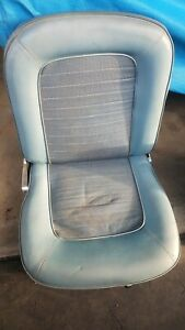 1966 Mustang Front Seats