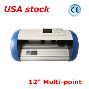 Usa 12 Multi point Automatic Patrol Contour Cutting Plotter Plotting Cutter