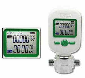 Ce Professional 0 10l min Digital Protable Gas Air Nitrogen Oxygen Flow Meter