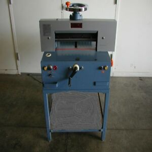 Imperial 18 Electric Paper Cutter printing copy