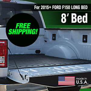 Heavy Duty 2015 Ford F150 Rubber Bed Mat Long Bed factory Second