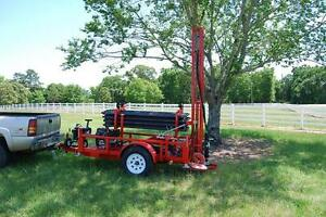 Water Well Drilling Machine Geothermal Drill Rig Pump Driller Diy Equipment New
