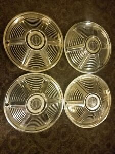 1965 Ford Mustang 14 Wheel Covers Hubcaps Set Of 4