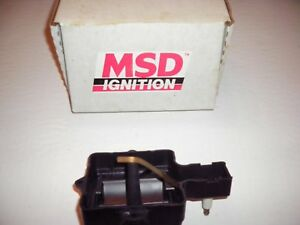 Msd Ignition Modified Dust Cover 8401 Original New In Box