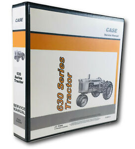 Case 630 Series 631 632 640 641 Tractor Factory Service Repair Shop Manual