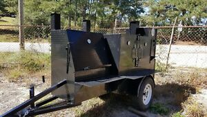 Mini Ribmaster Mobile Bbq 36 Grill Smoker Trailer Food Truck Vending Concession