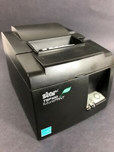 Star Micronics Tsp100ii Futureprint Usb Thermal Receipt Printer Powers Up