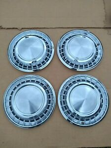 1958 Plymouth Belvedere Fury 14 Inch Wheel Covers Hubcaps Original Oem