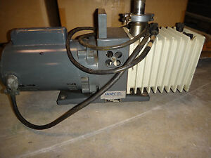 Alcatel 7m2007 Vacuum Pump 1 2hp